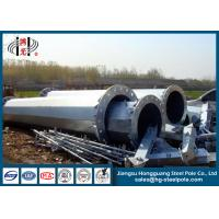 China Shockproof Steel Tubular Power Transmission Poles Low Voltage wholesale
