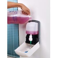 China Large capacity Refillable Hand Soap Dispensers Interchangeable nozzles Alternative Dose wholesale