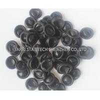China Powder Free Black Conductive Finer Cots , textured disposable finger Cots CE ROHS wholesale