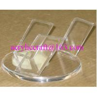 China Simple Design Clear Acrylic Knife Display Rack / Perspex Knife Holder wholesale