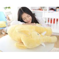 China 0.8kg Soft Stuffed Elephant Plush Toy 40 - 90cm Size Height For Birthday Gift wholesale