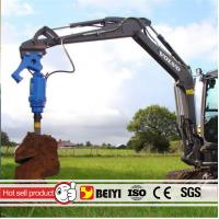 China Auger drilling machine BYS6000 Excavator ground hole drill hydraulic auger drilling equipment used on excavator wholesale