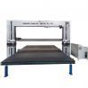 China Automatic Oscillating Dual Blade Horizontal and Vertical Foam Sponge Cutting Machine wholesale