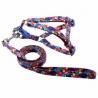 China Custom design logo print adjustable neoprene turelove pet dog harness factory price wholesale