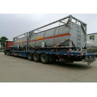 China 20ft Hydrochloric acid, Sodium hypochlorite Tank Containers Steel Lined PE 16mm on sale