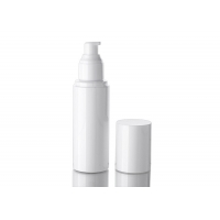 China White 100ml Plastic Cosmetic Packaging Bottle With Cap wholesale