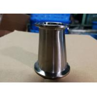 China Hygienic Fittings Clamp Reducers For Food / Beer / Beverage / Dairy Usages Polished Surface wholesale