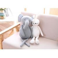 China Lovely Stuffed Rabbit Toy / Elephant Soft Toy For Children Stuffed Animal wholesale