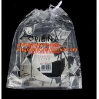 China Biodegradable Square Hotel Small Nylon Plastic Dry Cleaning Mesh Laundry Poly Bags With Custom Logo,Dry Cleaning Bag for on sale