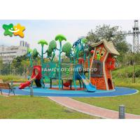 China Unique Kids Outdoor Playground Equipment Pirate Ship Shaped For Little Titkes wholesale