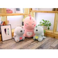 China Cute Pink Dinosaur Soft Toy Doll Handcuffs Two In One Plush Toy CE Approved wholesale