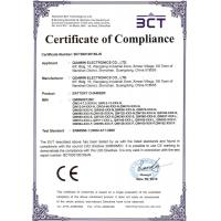 Shenzhen Quawin Electronics Co.,Ltd. Certifications