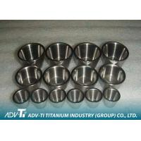 Quality Customized 99.9% Pure Titanium GR1 Crucible With Good Corrosion Resistance and Low Density for sale