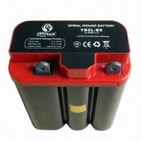 China 12V 5.5mAh Motorcycycle Spiral Wound Battery (6C70) 12N5, Sized 105 x 57 x 130mm wholesale