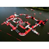 China Custom Deisgn Giant Floating Island Inflatable Water Park for Inflatable Aqua Park Fun wholesale