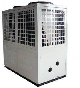 China 65C 85C Air Source High Temp Heat Pump R134A R744 Radiator Boiler Heating wholesale