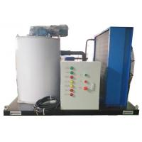 Buy cheap 3T/24H Durable Saltwater Flake Ice Machine With Aluminum Brass Anticorrosion from wholesalers