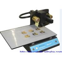 China Hot stamping foil printing machine on sale