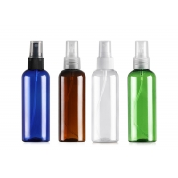 China Pump Sprayer Sealing Type 100ml Plastic Cosmetic Bottles wholesale