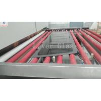 China Automotive Rear Glass Toughening Furnace , Glass Tempering Furnace With Moulds Pressing wholesale