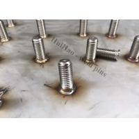 China M6 Stainless Steel Stud Welder Pins With Internal Female Thread For Arc Welding on sale
