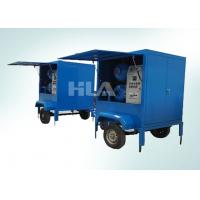 China Fully Automatic Vacuum Transformer Mobile Oil Purifier For Outdoor Work wholesale