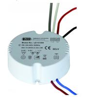 China Round Dimmable LED Driver For Constant Current Lamp 1-10V Dimming Way 13W 350mA wholesale
