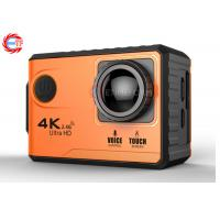 Buy cheap Voice Control EF100P Wifi 4K Action Camera 2.0 Touch Screen with Gyro and Remote from wholesalers