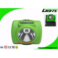 China 13000Lux Wireless Underground Mining Cap Lamp with USB Charger 5V Output Voltage on sale