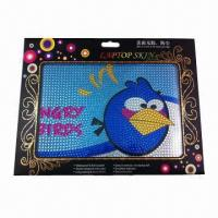 China Laptop Skin, non-stick Dirt, Measures 12.2 x 8.3cm, Available in 14 Designs wholesale