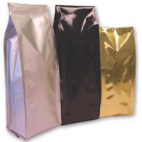 Quality Standing Side Gusset  Foil Packaging Bags For Coffee for sale