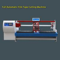 Quality Automatic PVC / Masking / PE / BOPP Tape Cutting Machine With 2 Shafts 380V 50HZ wholesale