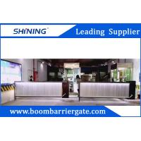 Buy cheap Aluminum Automatic Gate Barrier 200 W Car Parking Management System from wholesalers