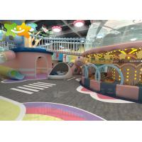 China Shopping Mall ball pool Climb Soft Playground Kids Games Indoor Play Area wholesale