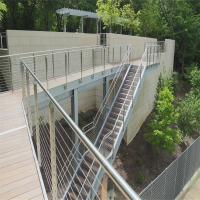 China DIY Cable Railing / Wire Rope Railing Balustrade with Stainless Steel Wire Ropes wholesale