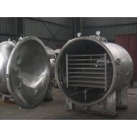 China Round Shape Vacuum Drying Equipment YZG Series For Pharmaceutical Industry wholesale