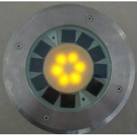 Buy cheap BJ-14 stainless steel Round Solar Brick with 6 LED from wholesalers