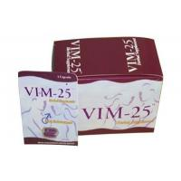 Buy cheap Vim-25 Fast-Acting Natural Male Sex Enhancement Pills With All Herbal For Health Care from wholesalers