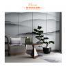 China Grey Hotel Lobby Furniture Big Modern Leisure Swivel Wooden Chair wholesale