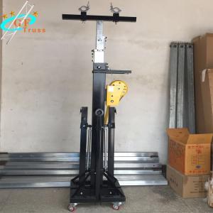 China Alu 6082-T6 Hand Crank Tripod Speaker Stand Lift 100kg Max Load wholesale
