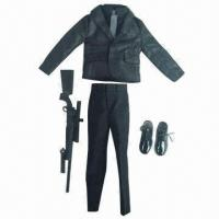 China 1/6th Figure Clothing, Customized 12-inch Action Figure Doll Uniform wholesale