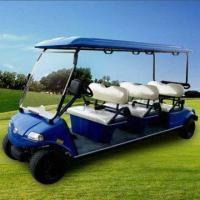 China 6-seater Electric Golf Car with On-board Battery Charger Included, Speed Motor and 5.5H ADC Motor wholesale