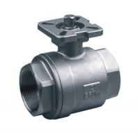 China 2-pc stainless steel ball valves full port 1000WOG ISO-5211 DIRECT MOUNTING PAD SS316 wholesale