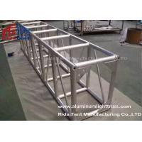 China Light Weight Aluminum Stage Truss , Square Lighting Truss Bar For Rental Event wholesale