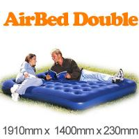 China Comfortable 140cm Inflatable Air Beds 0.55mm PVC With EN71 SGS wholesale