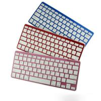 Quality Custom Mini Colorful iPad Bluetooth Keyboards Rechargeable for Smart TV for sale
