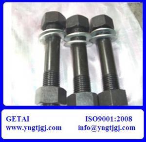 China Carbon Steel Stud Bolt ASTM A193 Gr B7 on sale