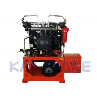 China 30 Bar High Pressure Piston Air Compressor Wear Resistant For Pet Bottle Machine wholesale