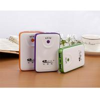 China Private 5V Portable Power Bank Battery Backup Yellow Green Blue Color wholesale