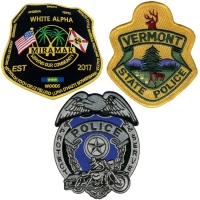 China Eco friendly US Military Police Patch Washable For Police Clothing wholesale